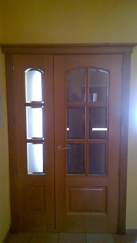 Puertas acristaladas con varias hojas