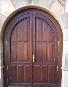 Puerta de entrada clásica