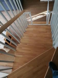 Escaleras nuevas viviendas