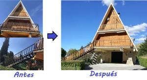 Restauración completa exterior vivienda